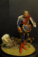 French Horse Artillery Captain 90mm